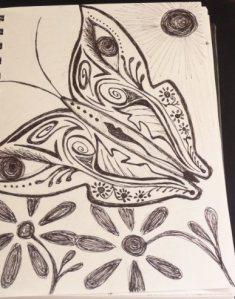 Safiya's a doodler